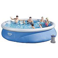 Надувной бассейн Bestway 57313, 457 x 84 см (2 006 л/ч)