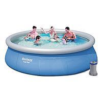 Надувной бассейн Bestway 57321, 396 х 84 см (2 006 л/ч)