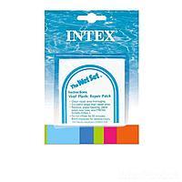 Самоклейки Intex 59631. Размер 7 х 7 см, 6 шт