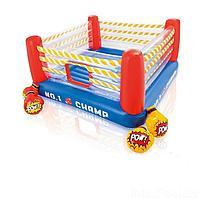 Надувной батут Intex 48250 Боксерский ринг, 226 х 226 х 110 см