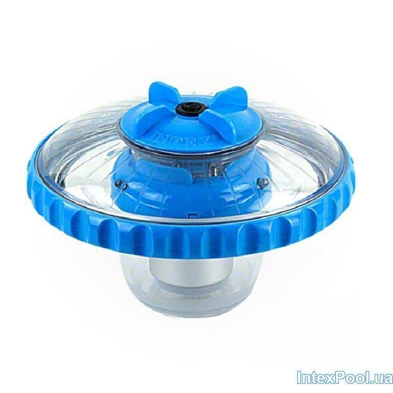 Архивный. Подсветка для бассейна Intex 28690, плавающий поплавок. Работает от батареек