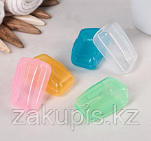 Набор футляров для зубной щетки 4×2×2 см, 5 шт.