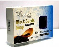Мыло с черным тмином Fleurs HEMANI, 80 гр.