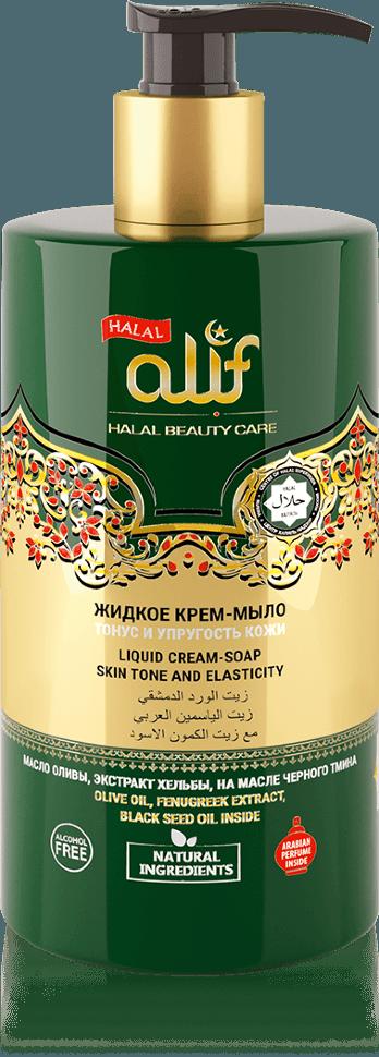 Жидкое крем-мыло ALIF «Тонус и упругость кожи», 460 мл.