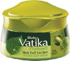 Крем для волос Dabur VATIKA Контроль выпадения волос, 140 мл.
