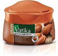 Крем для волос Dabur VATIKA Argan Мягкое увлажнение с маслом арганы, 140 мл.