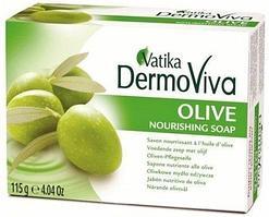 Мыло оливковое VATIKA Olive Soap, 115 г.