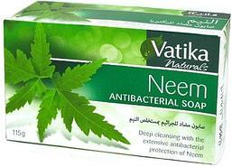 Мыло антибактериальное VATIKA Neem Soap с экстрактом дерева Ним, 115 г.