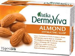 Мыло Увлажняющее с миндальным маслом VATIKA Almond Soap, 115 г.