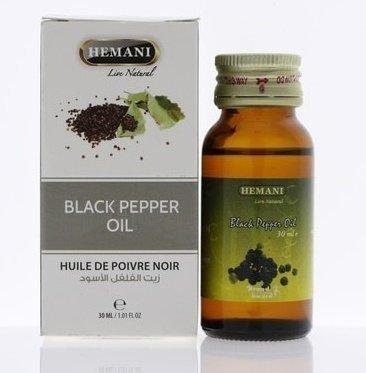 Косметическое масло черного перца от HEMANI, 30 мл.