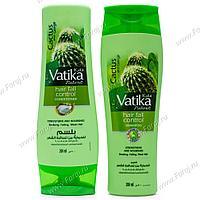 [Комплект: шампунь и кондиционер] VATIKA Контроль выпадения волос (кактус, гаргир и чеснок), 200 мл