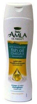 Крем-шампунь DABUR AMLA Anti Breakage Fish oil Omega-3: против ломкости с рыбьим жиром, BIG SIZE, 400 мл.
