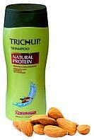 Шампунь для волос с натуральным протеином Trichup, 200 мл.