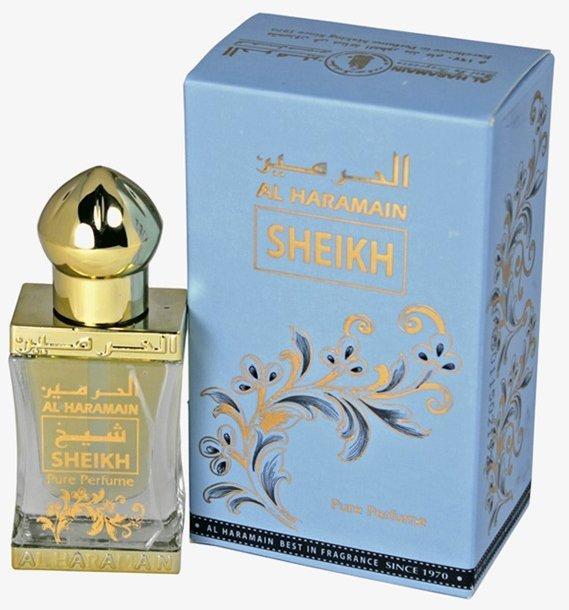 Арабские масляные духи AL HARAMAIN SHEIKH / АЛЬ-ХАРАМАЙН ШЕЙХ, 12 мл.