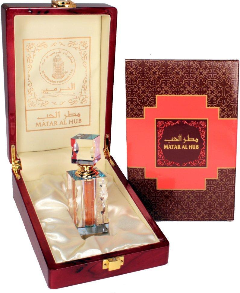Арабские масляные духи AL-HARAMAIN MATAR AL HUB / МАТАР АЛЬ ХУБ, 12 мл.