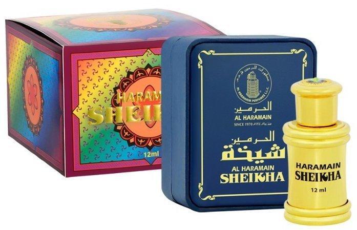Арабские масляные духи AL-HARAMAIN SHEIKHA / ШЕЙХА, 12 мл.