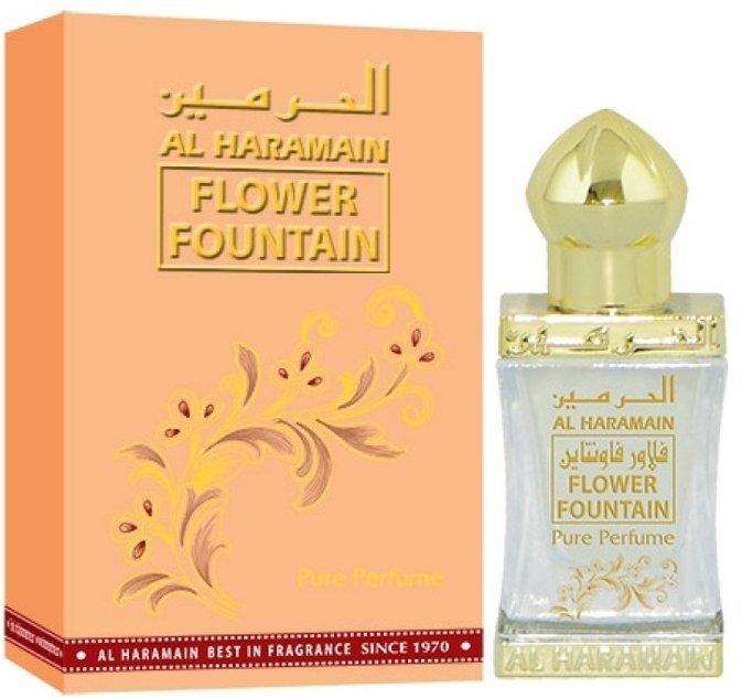 Арабские масляные духи AL HARAMAIN FLOWER FOUNTAIN / АЛЬ-ХАРАМАЙН ЦВЕТОЧНЫЙ ФОНТАН, 12 мл.