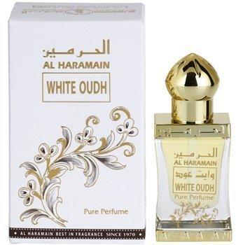 Арабские масляные духи AL HARAMAIN WHITE OUDH / АЛЬ-ХАРАМАЙН БЕЛЫЙ УД, 12 мл.
