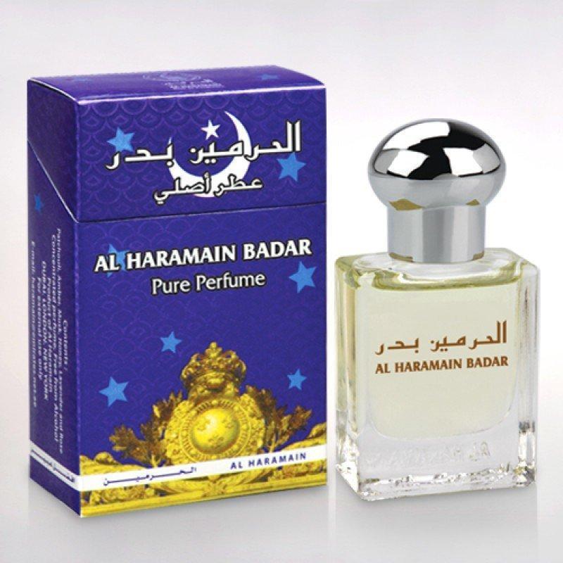 Арабские масляные духи AL-HARAMAIN BADAR / БАДАР, 15 мл.