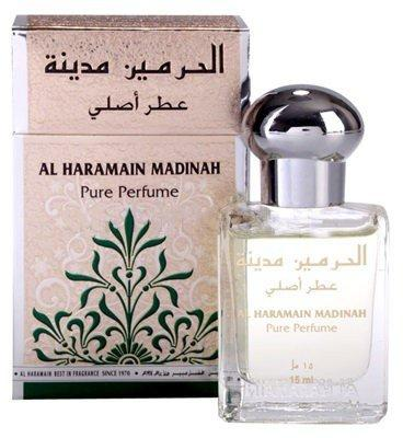 Арабские масляные духи AL-HARAMAIN MADINAH  / МЕДИНА, 15 мл.
