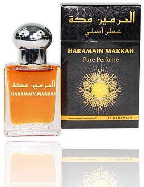 Арабские масляные духи AL-HARAMAIN MAKKAH / МЕККА, 15 мл.