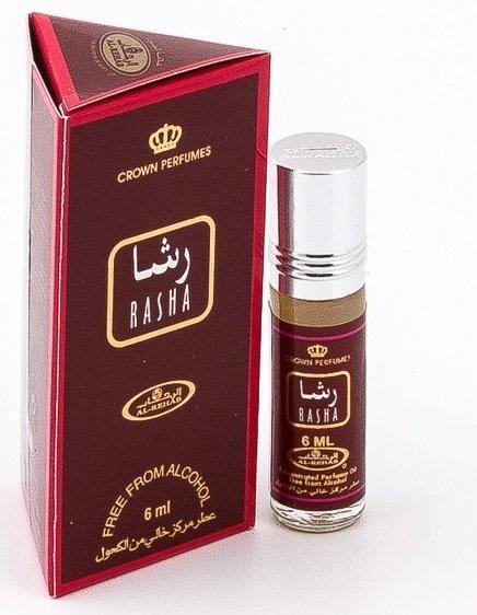 Арабские масляные духи AL REHAB RASHA (Раша), 6 мл.