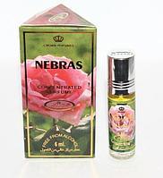 Арабские женские масляные духи AL REHAB NEBRAS (Небрас), 6 мл.