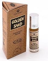Арабские женские масляные духи AL REHAB GOLDEN SAND (Золотой песок), 6 мл.