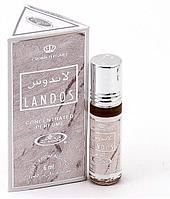 Мужские арабские масляные духи AL REHAB LANDOS (Ландос), 6 мл.