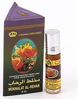 Арабские масляные духи AL REHAB MOKHALAT, 6 мл.
