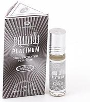 Арабские масляные духи AL REHAB PLATINUM (Платинум), 6 мл.