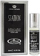 Арабские мужские масляные духи AL REHAB STATION, 6 мл.