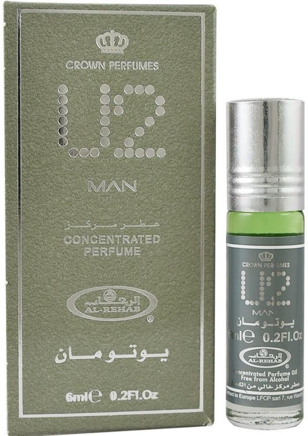 Арабские мужские масляные духи AL REHAB MEN U 2, 6 мл.