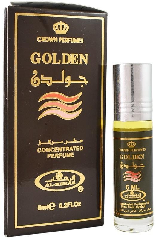 Масляные духи AL REHAB GOLDEN (Золотой), 6 мл.