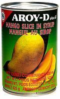 Манго дольки в сиропе AROY-D, 425 гр.