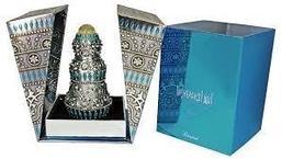 Арабские масляные духи RASASI INSHERAH silver / ИНШЕРА  серебряный, 15 мл.