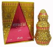 Арабские масляные духи RASASI INSHERAH gold / ИНШЕРА  золотой, 15 мл.