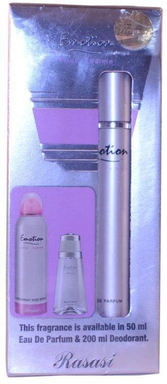 Арабская парфюмированная вода EMOTION / ЭМОЦИИ женский, 10 мл.