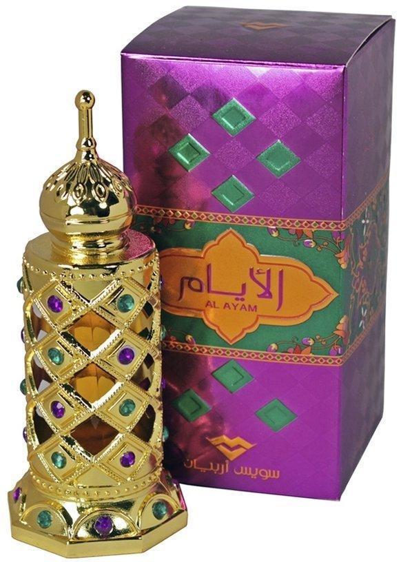 Арабские масляные духи SWISS ARABIAN AL AYAM / Аль-Айам, 15 мл.
