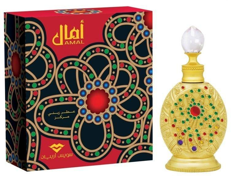 Арабские масляные духи SWISS ARABIAN AMAL / Амал, 15 мл.