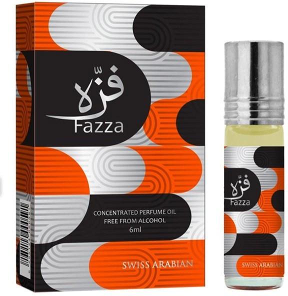Арабские масляные духи SWISS ARABIAN FAZZA / Фазза, 6 мл