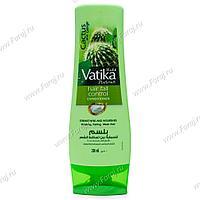 Кондиционер для волос VATIKA Контроль выпадения волос (кактус, гаргир и чеснок), 200 мл.