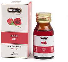 Косметическое масло розы холодного отжима от Hemani, 30 мл