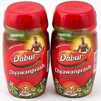 [Комплект из 2 шт.] Чаванпраш Chawanprash Dabur, 2 шт. по 500 г.