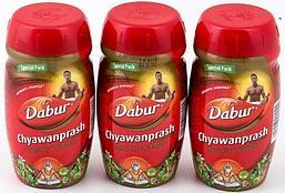 [Комплект из 3 шт.] Чаванпраш Chawanprash Dabur, 3 шт. по 500 г.