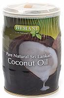 Кокосовое масло HEMANI косметическое в жестяной баночке, 400 мл.