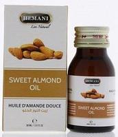 Масло сладкого миндаля от Hemani, 30 мл.