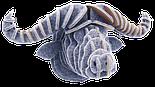 Констуктор 3D голова африканского буйвола, фото 2