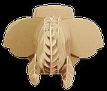 Констуктор 3D голова африканского слона, фото 2