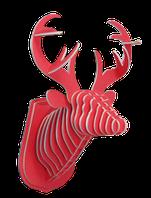 Констуктор 3D голова оленя бурый